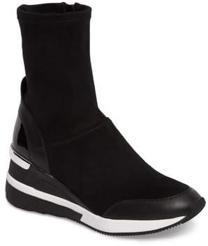 MICHAEL Michael Kors 'Ace' Wedge Sneaker Bootie