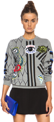 Kenzo Graphic Sweatshirt $575 thestylecure.com