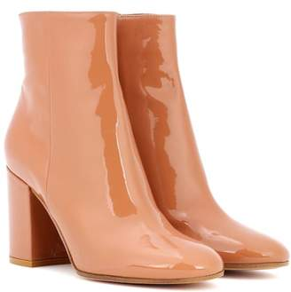 Gianvito Rossi Exclusive to mytheresa.com – Rolling 85 patent leather ankle boots