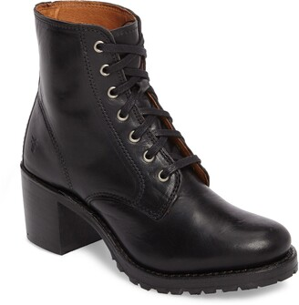Frye Sabrina 6G Lace-Up Boot