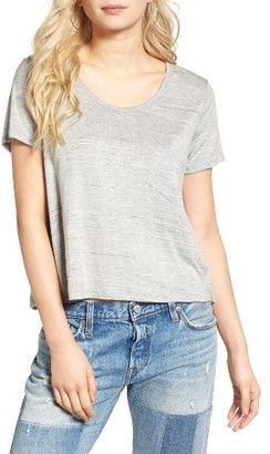 Women's Lush Marled Swing Tee $29 thestylecure.com