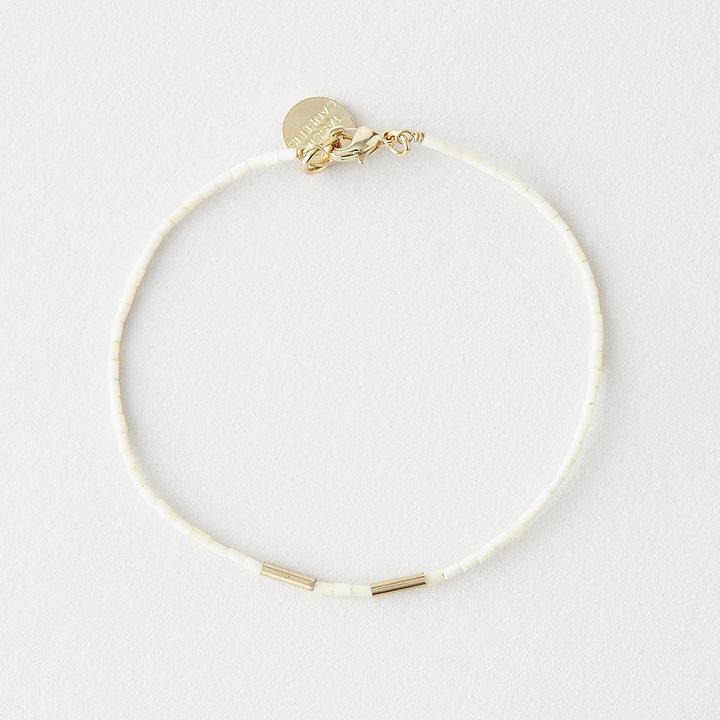 Steven Alan TASSIA CANELLIS golden teal bracelet
