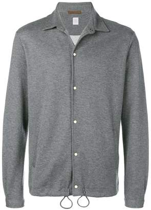 Eleventy press stud sweatshirt