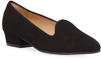 Sesto Meucci Ariele Chunky-Heel Loafer, Black