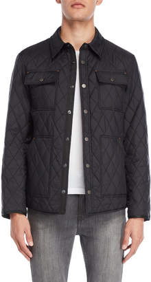 Rainforest Diamond Quilted Water Resistant Jacket