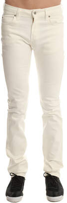 Naked & Famous Denim Skinny Guy Ivory Power Stretch