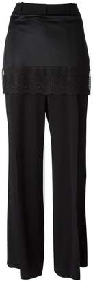 Givenchy lace trim skirt trousers