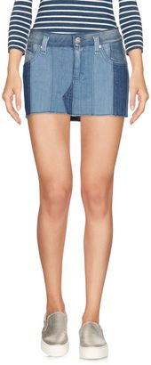 MISS SIXTY Denim skirts $81 thestylecure.com