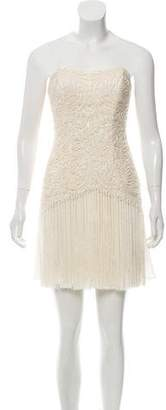 Sue Wong Embellished Strapless Dress w/ Tags