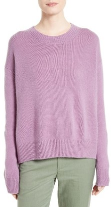 Women's Vince Boxy Cashmere Pullover $345 thestylecure.com