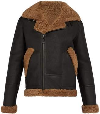 Yves Salomon Shearling-lined leather jacket