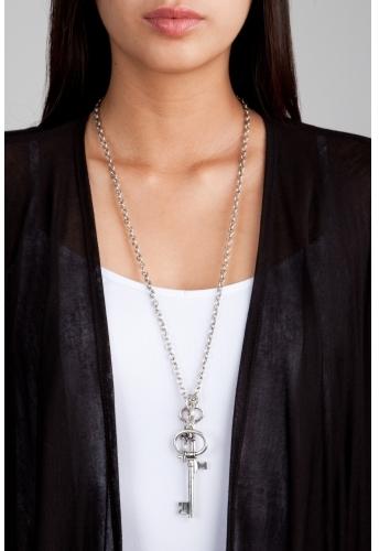 Big Key Pendant Necklace