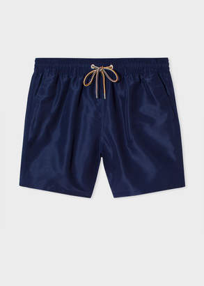 Paul Smith Men's Navy Long Swim Shorts