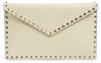 Valentino Large Rockstud Leather Pouch