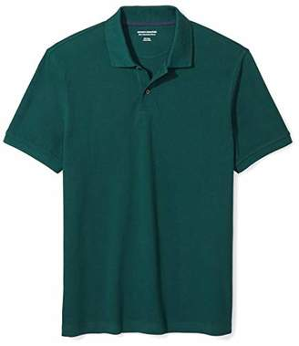 532e195e7ff Amazon Essentials Men's Slim-Fit Cotton Pique Polo Shirt