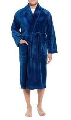 Majestic International Metro Thread Plus Fleece Robe