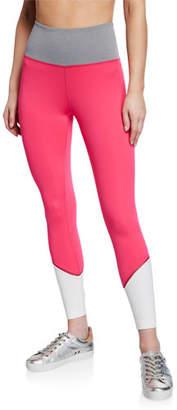 Kate Spade High-Rise Colorblock Active Leggings