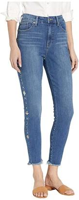Lucky Brand Bridgette High-Rise Skinny Jeans in Spanish Isles
