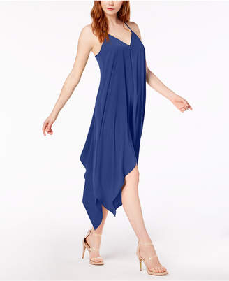 Bar III Sleeveless Handkerchief-Hem Dress, Created for Macy's