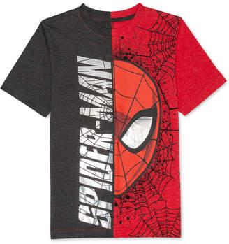 Marvel Big Boys Spider-Man Graphic-Print T-Shirt