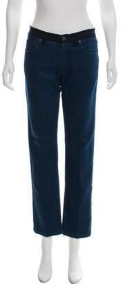 Lanvin x Acne High-Rise Straight-Leg Jeans