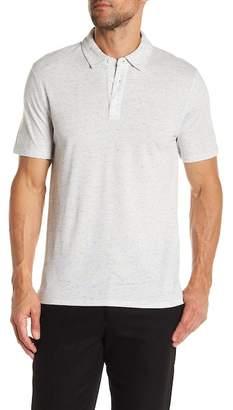 Vince Mixed Knit Polo Shirt