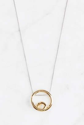 Jenny Bird Mini Hoop Pendant Necklace