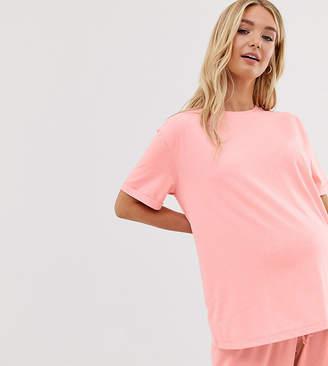 Asos DESIGN Maternity mix & match pyjama jersey tee