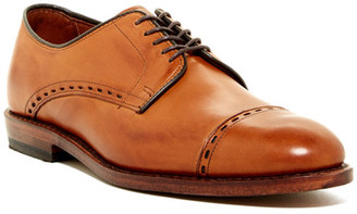 Allen Edmonds Madison Ave Cap Toe Derby - Extra Wide Width Available $395 thestylecure.com