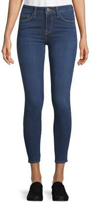 Genetic Los Angeles Women's Elle Cropped Jeans - Crown Blue, Size 28 (4-6)