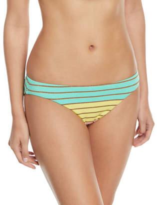 Trina Turk Lurex® Stripe Hipster Swim Bikini Bottoms