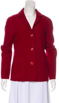Armani Collezioni Lightweight Button-Up Jacket