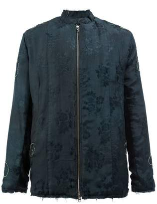 By Walid floral jacquard jacket