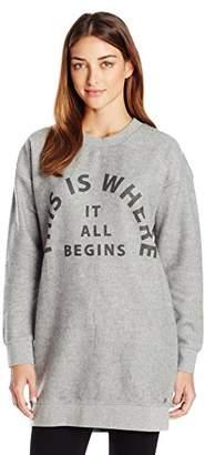 Bench Women's Arrangement Long Pullover Sweatshirt