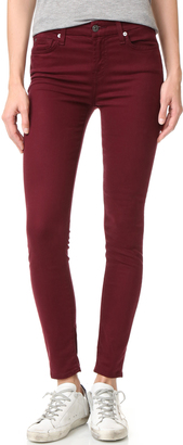 7 For All Mankind The Ankle Skinny Jeans $169 thestylecure.com