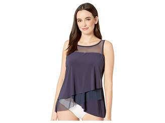 Miraclesuit Solid DD-Cup Mirage Tankini Top