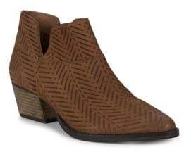 Charles by Charles David Zander Nubuck Leather Booties