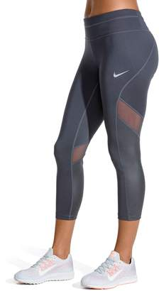 Nike Women's Sprinter Running Midrise Capri Leggings