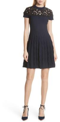 The Kooples Lace Yoke Dress