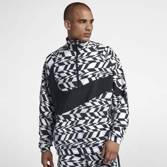 Nike Sportswear Swoosh Men's Half-Zip Packable Printed Jacket