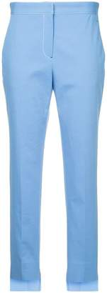 Rosetta Getty contrast stitch tapered trousers