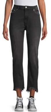 Medium-Rise Straight Jeans