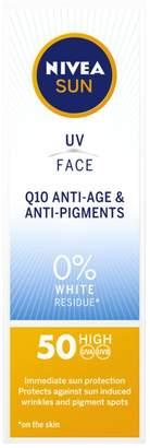 Nivea Sun Q10 Antiage And Anti Pigment Face Cream SPF50 50ml