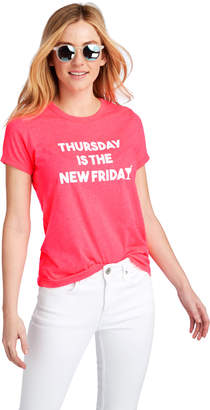 Vineyard Vines Thursday Is The New Friday Island Graphic Tee