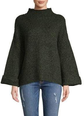 Line Kira Funnelneck Textured Sweater