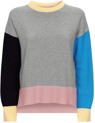 Pringle Colour Block Cashmere Sweater