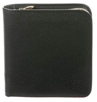 Louis Vuitton Taiga Compact Zippy Wallet