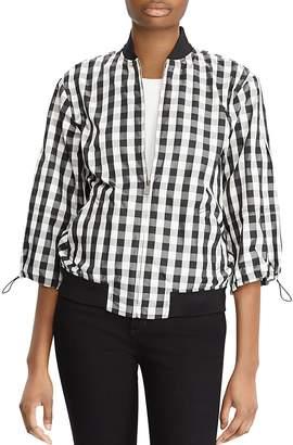 Lauren Ralph Lauren Gingham Bomber Jacket