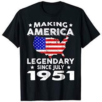 67th Birthday Gifts Making America Legendary Since July 1951