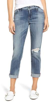KUT from the Kloth Catherine Ripped Boyfriend Jeans (Fondly) (Regular & Petite)